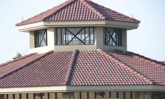 琉璃瓦屋頂效果圖片